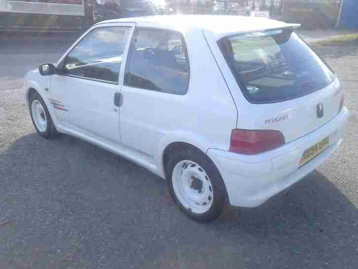Peugeot 106 RALLYE SERIES 2. car for sale