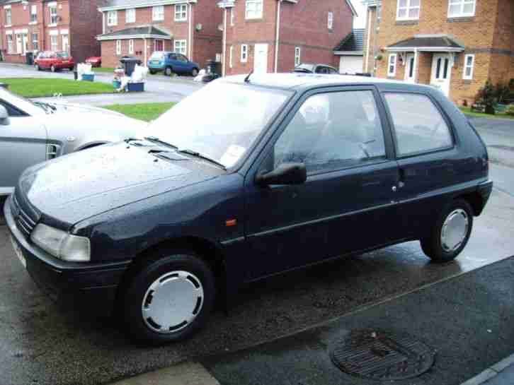 PEUGEOT 106 WITH GENUINE 51K MILES S1 RALLYE SHELL