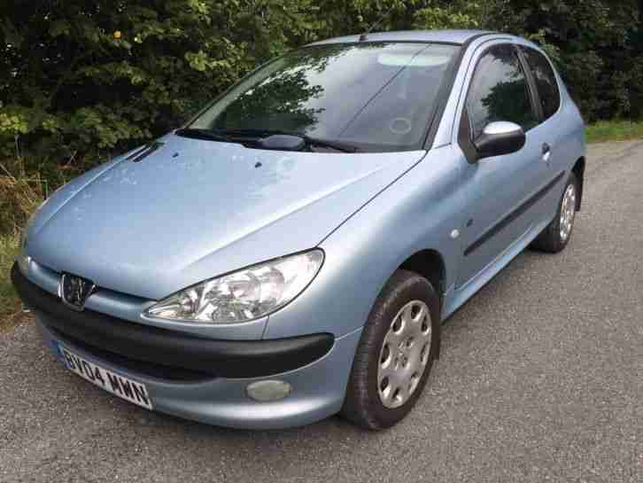 PEUGEOT 206 1.4 FEVER 3 DOOR HATCHBACK SILVER