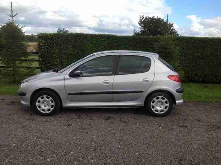 PEUGEOT 206 S 2005 1.4 HDI 100K 12 MONTHS M.O.T SERVICE HISTORY £30 ROAD TAX