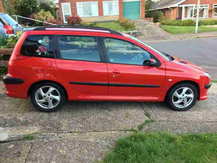 Peugeot 206 Sw Red Car  Car For Sale