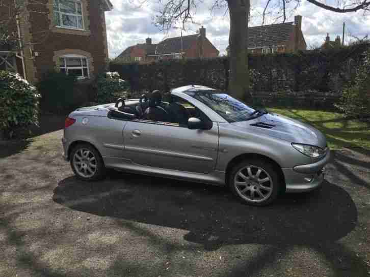 Peugeot 206 cc 1.6 QUICKSILVER. car for sale