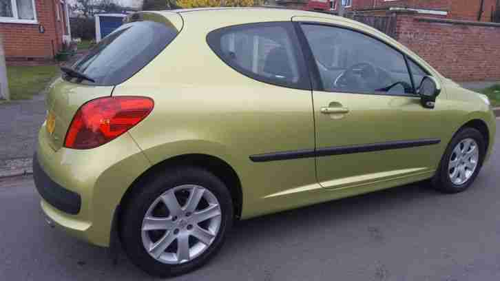 PEUGEOT 207 1.6 vti Only 63k,2 owners