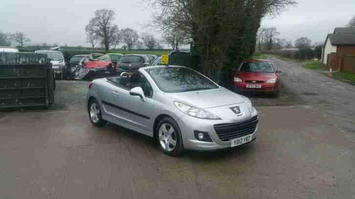 207 CC ACTIVE CONVERTIBLE 1.6 PETROL