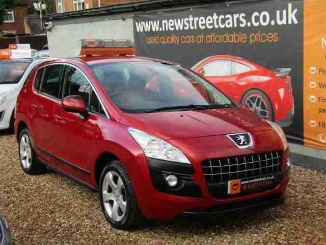 PEUGEOT 3008 1.6. Land & Range Rover car from United Kingdom