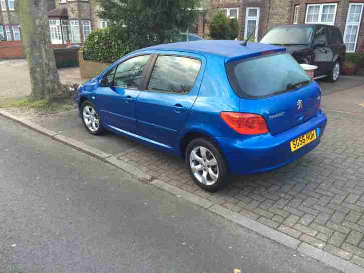 PEUGEOT 307 S 2006 TIPTRONIC METALLIC BLUE!