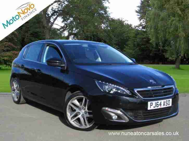 PEUGEOT 308 E HDI ALLURE Black Manual Diesel, 2014