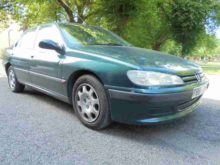 PEUGEOT 406 1.9TD ( a/c ) LX GOOD SERVICE HISTORY LAST OWNER SINCE 2004
