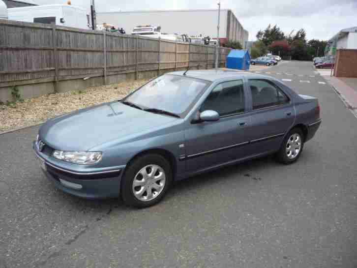 peugeot 406 2 0 glx hdi 2001 diesel manual in blue car for sale. Black Bedroom Furniture Sets. Home Design Ideas