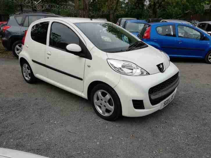 PEUGEOT107 1.0 SPECIAL EDITION ENVY £20 TAX 3 MONTH WARANTY LOW MILEAGE 73 K