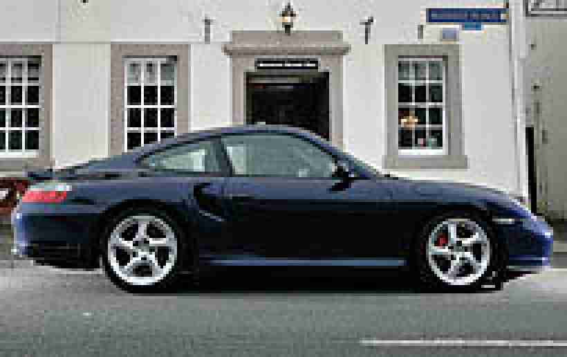 PORSCHE 911 3.6 Turbo 2002 Petrol Manual in Dark Blue