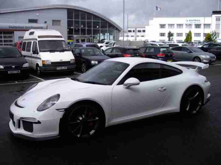 PORSCHE 911 3.8 GT3 PDK 991 CLUBSPORT PACKAGE 2014 Petrol Automatic in White