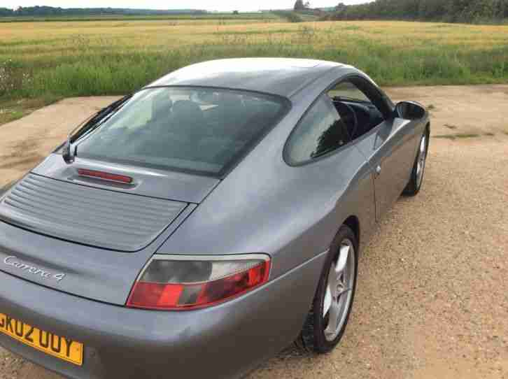 PORSCHE 911 CARRERA 4 3.6 ENGINE 2002 ONLY 88 k,AUTO TIPTRONIC FULL HISTORY