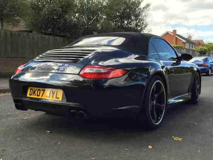 Porsche 911 Carrera 4s 38 997 Techart Convertible Black Brand New 20