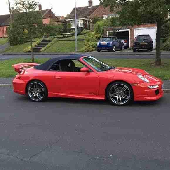 Porsche 911 CONVERTIBLE GT3RS REPLICA £13,995 REDUCED. Car