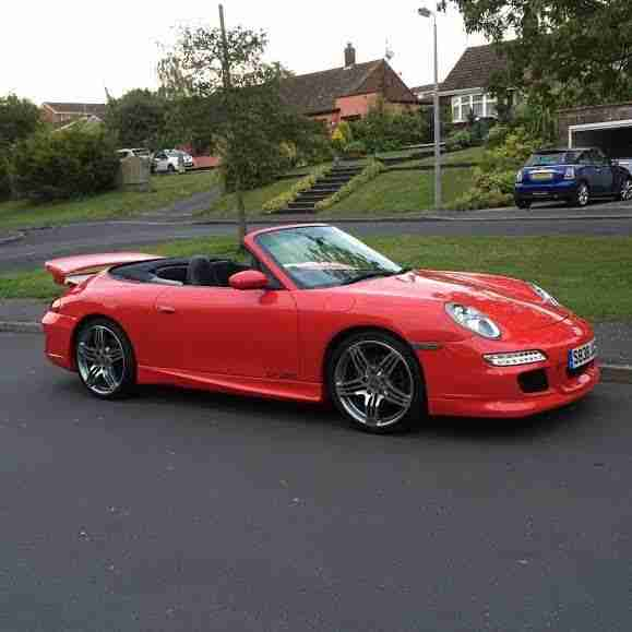 Porsche 911 CONVERTIBLE GT3RS REPLICA £13,995 REDUCED. Car