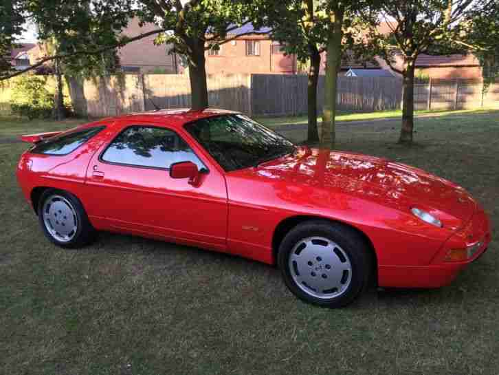 PORSCHE 928 S4 5.0 V8 32V AUTO, GUARDS RED, FULL LEATHER. LOW MILES FULL HISTORY
