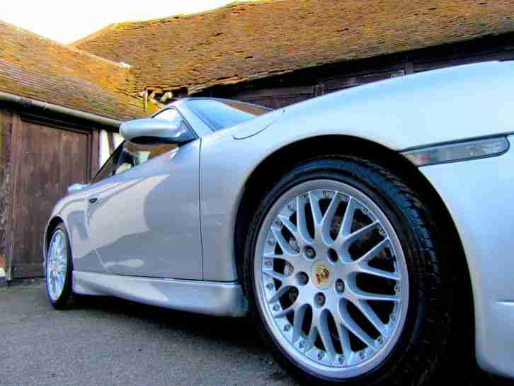 PORSCHE 996 911 MANUAL *** M030 Sports Suspension + Factory Aero Kit ***
