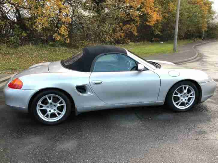 **PORSCHE BOXSTER 2.5 - 99 (T) - TIPTRONIC AUTO - LOW MILEAGE, VERY CLEAN**