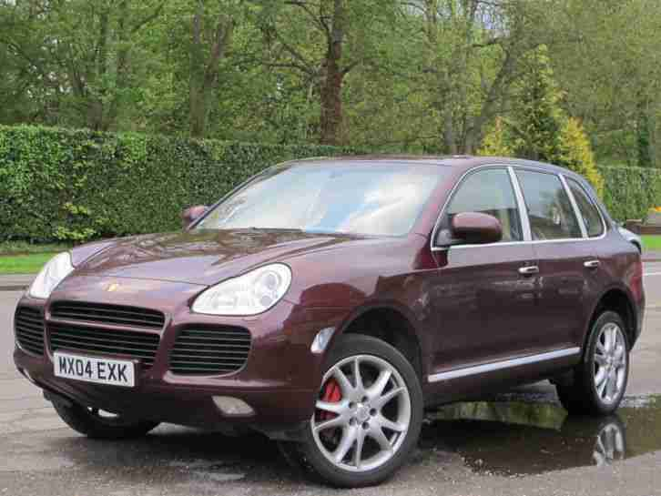 Porsche Cayenne 4 5 Turbo Triptronic S Auto 2004 04 Car