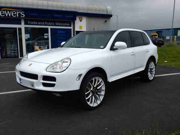 Porsche cayenne tiptronic s in stunning white 2004 car for sale porsche cayenne tiptronic porsche car from united kingdom publicscrutiny Image collections