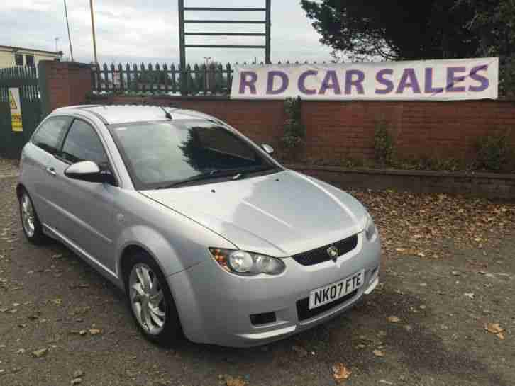 PROTON SATRIA NEO GSX 1.6 07 07 REG 62,000 MILS MOT APRIL 18 WITH HISTORY