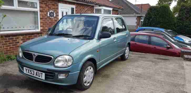 Perodua Kelisa 1.0. Perodua car from United Kingdom