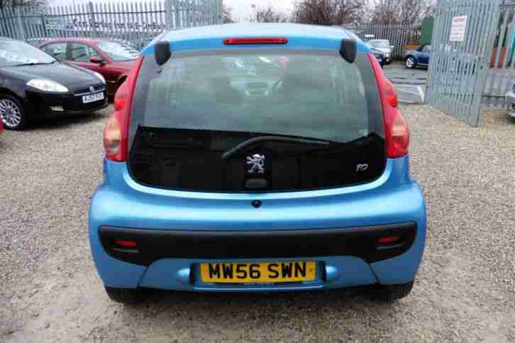 Peugeot 107 1.0 12v 2007MY Urban 5 DOOR BLUE LOW INSURANCE+LOW MILEAGE