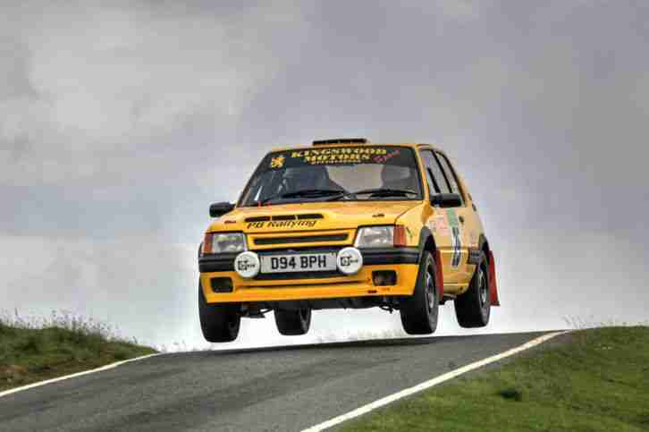 Peugeot 205 rally car. car for sale