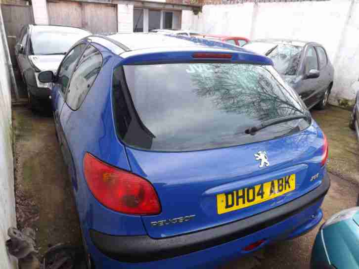 Peugeot 206 1.4 8v 2005 Y Zest PLEASE CALL 01202301308