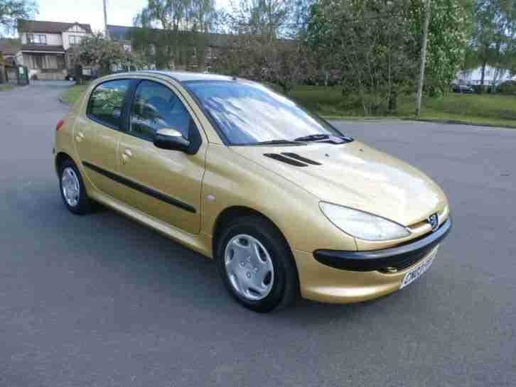 peugeot 206 1 4 hdi very low mileage car for sale. Black Bedroom Furniture Sets. Home Design Ideas