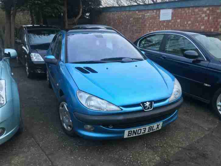 Peugeot 206 1.4HDi STYLE For Sale Long MOT £30 Tax Cheap Runner Bargain buy