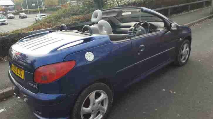 Peugeot 206 1.6 16v 2005MY Coupe Cabriolet