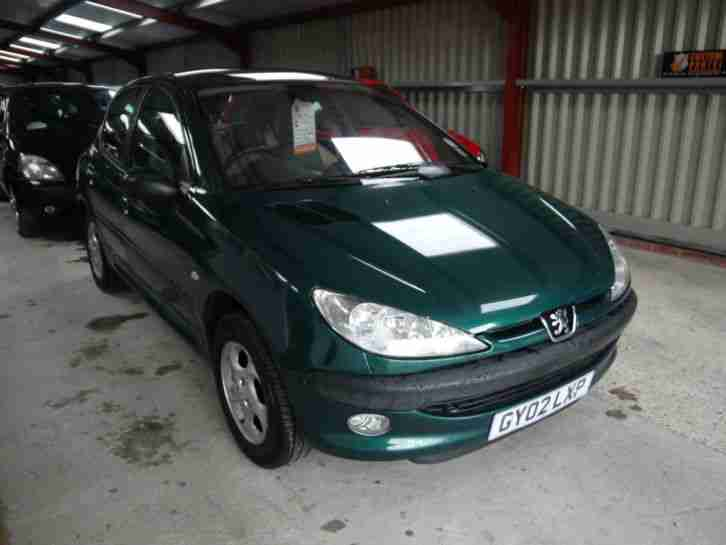 peugeot 206 1 6 roland garros 83000 miles service history mot. Black Bedroom Furniture Sets. Home Design Ideas