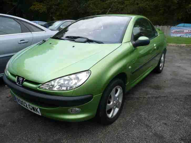 peugeot 206 green