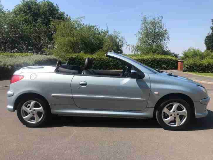 Peugeot 206 CC Convertible 2005 1.6 16v Allure 2dr remote central locking all