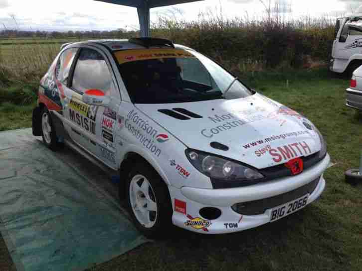 d4506f889 Peugeot 206 Rally Car, 2000cc Front Wheel Drive, Proflex, Jenvey ...