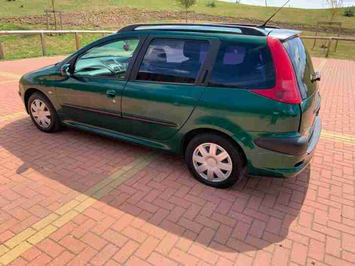 Peugeot 206 SW 1.4 XT long Mot 2 keys low mileage 101k only