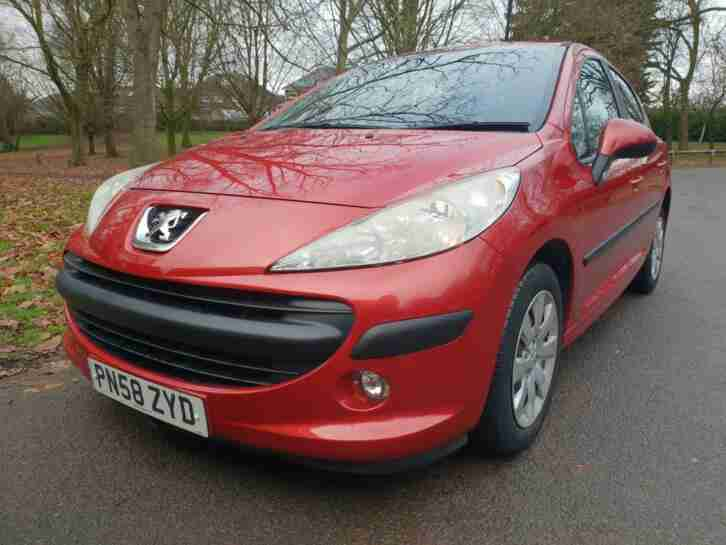 Peugeot 207 1.4. Other car from United Kingdom