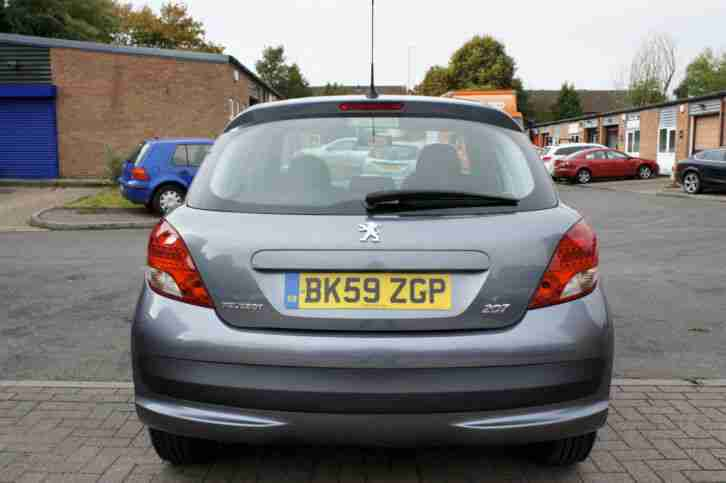 Peugeot 207 1.4 VTi 95 S 5dr In Metallic Grey