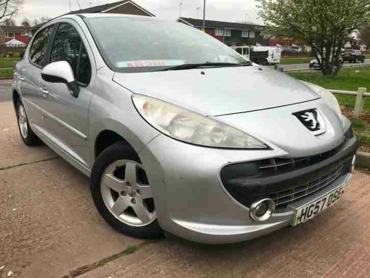 Peugeot 207 1.4 VTi 95 Sport For Sale New MOT Cambelt Done Cheap to Run Bargain