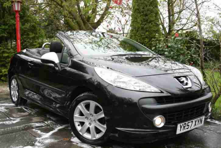 Peugeot 207 CC 1.6 120bhp Coupe Sport Convertible Only 51k miles