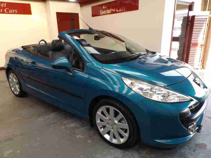 Peugeot 207 CC 1.6 16v 120 Coupe Automatic GT 6 MONTHS 5 STAR WARRANTY