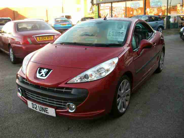 peugeot 207 cc 1 6 thp 150 coupe gt car for sale. Black Bedroom Furniture Sets. Home Design Ideas
