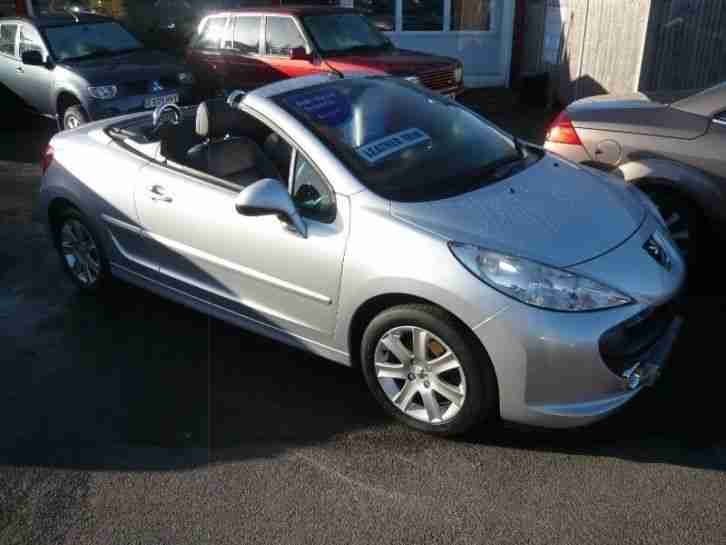 peugeot 207 sport coupe cabriolet petrol manual 2008 08 car for sale. Black Bedroom Furniture Sets. Home Design Ideas