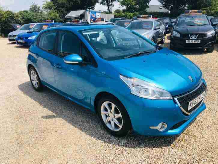 Peugeot 208 Active 5dr PETROL MANUAL 2012 62
