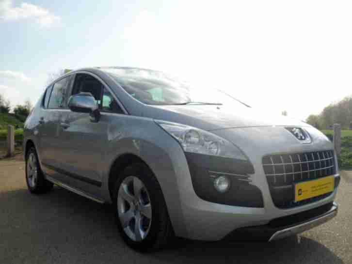 Peugeot Crossover. Peugeot car from United Kingdom