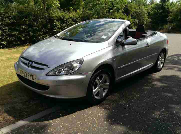 peugeot 307 cc 2 0 16v coupe 2003 convertible car for sale. Black Bedroom Furniture Sets. Home Design Ideas