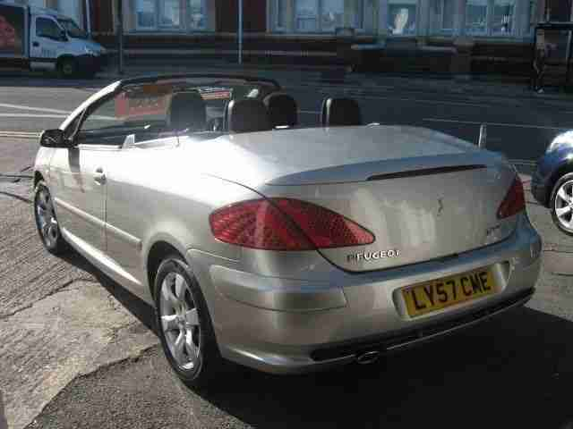 peugeot 307 cc convertible s coupe cabriolet car for sale. Black Bedroom Furniture Sets. Home Design Ideas