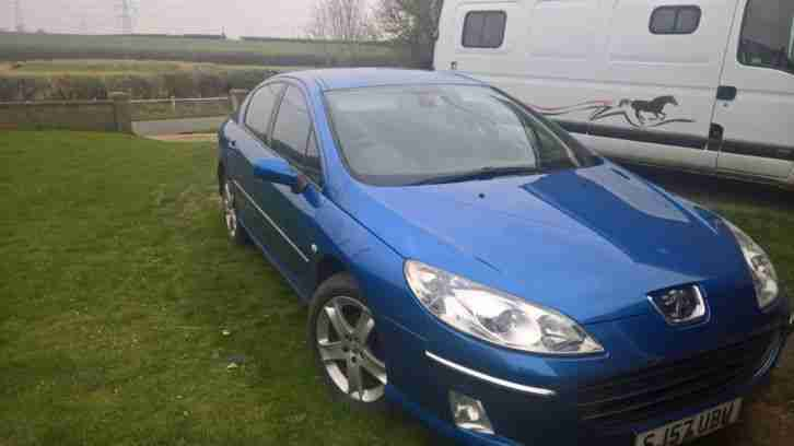 Peugeot 407 Saloon Car 2007